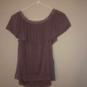 American eagle soft and sexy purple shirt